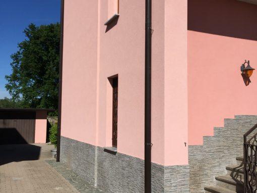 Rifacimento facciato edificio a Rescaldina (MI)